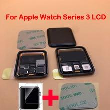 Pantalla LCD de repuesto para Apple Watch, versión móvil y GPS, Series 3, Digitalizador de pantalla táctil, 38mm, 42mm