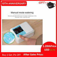 Gardern Smart Solar Energy Drip Irrigation System Automatic Plant Watering Device Irrigation Timer Kit Double Water Pump Tool