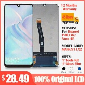 "Image 1 - 6.15 ""lcd Originale per Huawei P30 Lite/Nova 4E Display LCD Touch Screen Digitizer Assembly Display LCD P30 lite Parti di Riparazione"