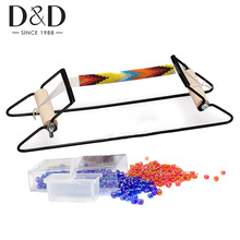 Stainless Steel Bead Loom Kit for Bracelets DIY Weaving Loom for Make Jewelry Necklace Knitting Machine Educational Toys