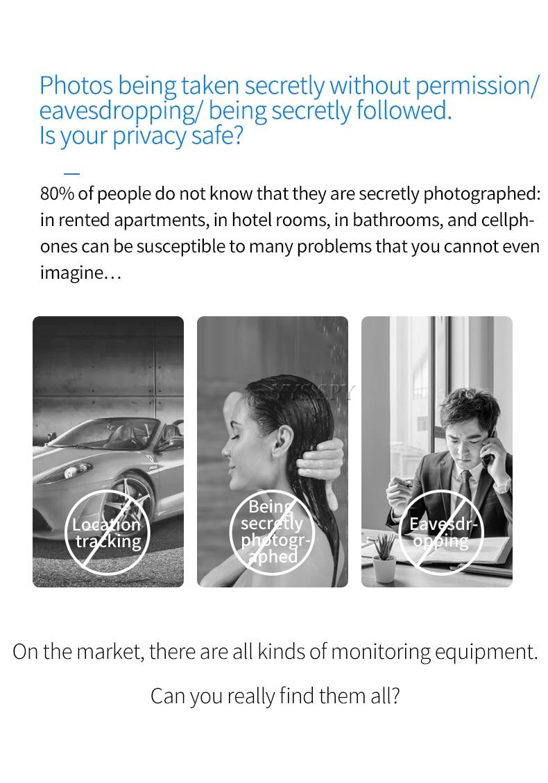 Cheap Detector de câmera antiespionagem