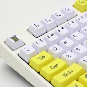 Image 2 - Tintura di Subbed PBT Keycap 108 Chiavi OEM Profilo Keycaps Per Interruttori MX tasto della tastiera cap