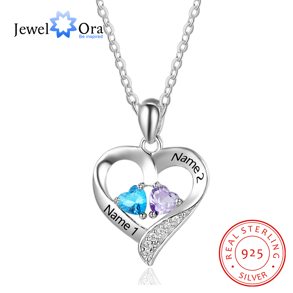 Sterling Silver MOM Disc and Heart Adjustable Necklace