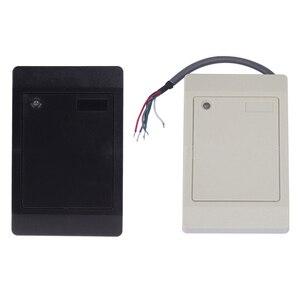 Caliente impermeable Wiegand Wg26 Wg34 RFID Tarjeta de Identificación lector de tarjetas de proximidad lector 125Khz 13,56 Mhz ID IC para el sistema de Control de acceso