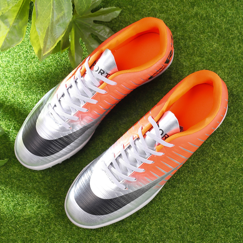 Outdoor Football Shoes Men Boys Professional Turf Sports Training Shoes Sneakers Outdoor Football Shoes Chuteira Futebol
