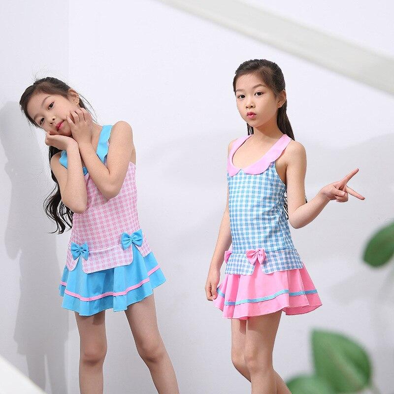 Korean-style Hot Springs KID'S Swimwear Girls Dress-Tour Bathing Suit Princess Dress-Bathing Suit
