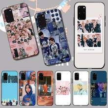 PENGHUWAN KPOP K.A.R.D MONSTA X NCT 127 Coque Shell โทรศัพท์สำหรับ Samsung S20 PLUS Ultra S6 S7 EDGE S8 s9 PLUS S10 5G(China)