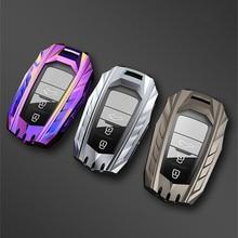 Hoge Kwaliteit Nieuwe Autosleutel Case Volledige Cover Voor Toyota Prius Camry Corolla C HR Chr RAV4 Prado 2018 Accessoires Sleutelhanger shell