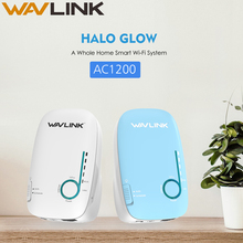 Wavlink AC1200 Sistema de malla WiFi de doble banda para el hogar 2,4 GHz 5GHz Router WiFi amplificador Wifi 1200Mbps extensor de Wifi de largo alcance