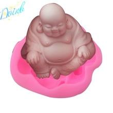 Doinb Maitreya Buddha shaped silicone soft candy mold cake decorating tool candy chocolate Soft Candy Mold candy moyo cmh53