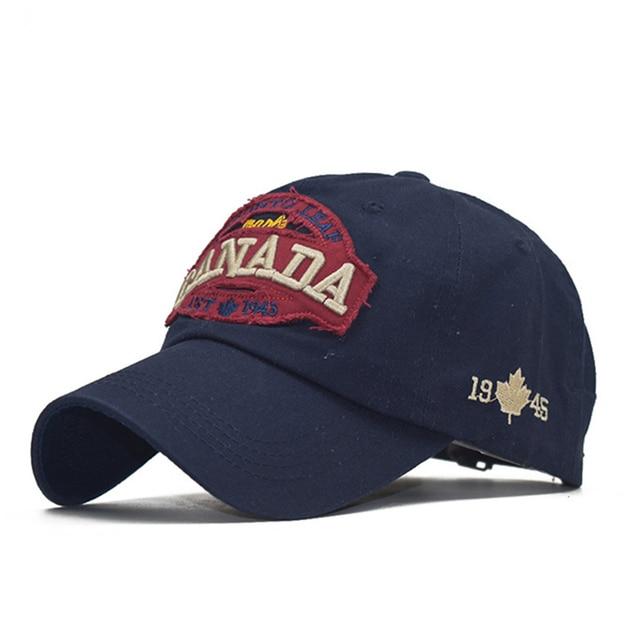 [northwood] new canada cap 3d embroidery canada baseball caps cotton bone snapback hat trucker caps casual dad hats