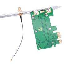 MINI PCI-E zu Desktops PCI-E Karte Adapter Drahtlose Netzwerke Karte Mini PCIE PC Laptop Drahtlose Netzwerke Karte Adapter Karte H-beste