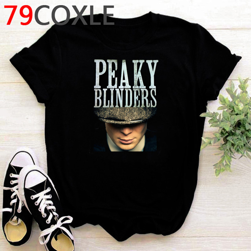 New Peaky Blinders T Shirt Men Summer Tops 2020 Funny Cartoon T-shirt Harajuku Kawaii Graphic Tshirt Unisex Cool Oversized Male