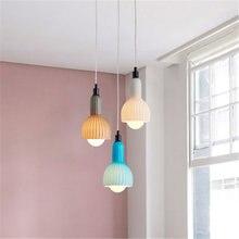 Настольная лампа macarone креативная для столовой в Северном