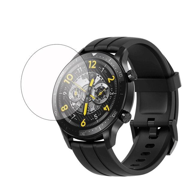 Realme Watch S Pro واقي شاشة LCD ، زجاج مقسّى لـ Smart sports ، فيلم واقي شفاف للساعة الذكية