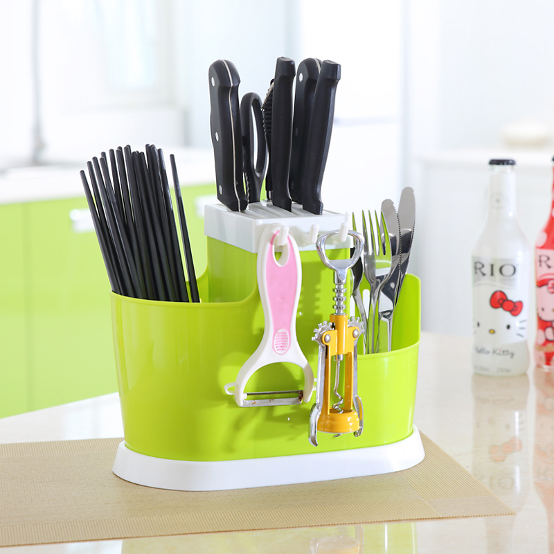 Kitchen Supplies Storage Rack Household  Kitchen Knife Holder Chopsticks Cage Chopsticks Insert Frame Lu 42018
