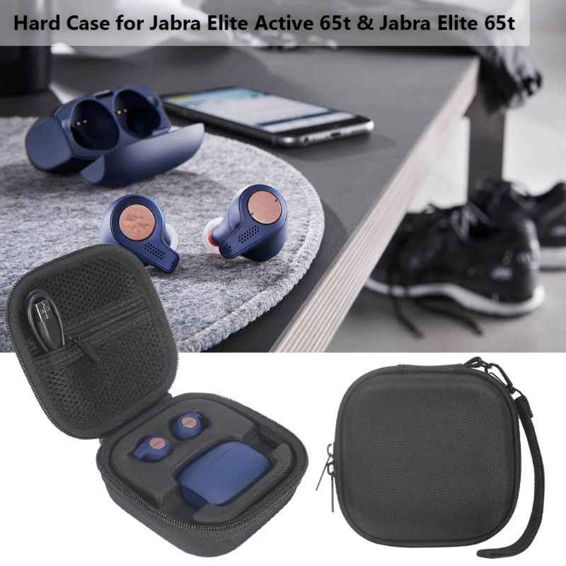 Eva Shockproof Carrying Hard Protective Case Cover For Jabra Elite Active 65t Earphone Accessories Aliexpress