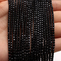 10 ярд, блестящий черный струйный цвет, DIY, плотная черная основа, коготь, хрустальные стразы, цепочка для свадебной одежды, художественное ук...