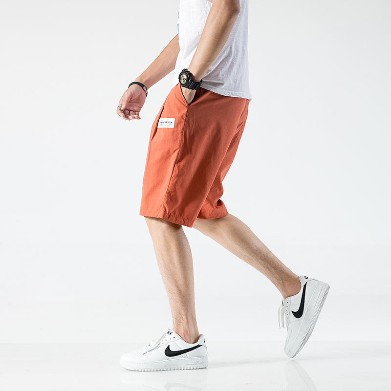 2020 Streetwear Summer Shorts Men Drawstring Casual Short Pants Trouers Bermuda Beach Shorts