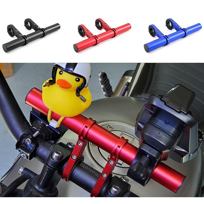 Universal 33- 22mm Black Aluminum Motorcycle Handlebar Cross Bar Steering Wheel Strengthen Adjustable Handle Bar New Styling