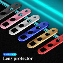 Metal Camera Lens Ring Case For Huawei Honor 20 Pro P30 Lite P20 Mate 20 X Pro 20X Nova 4e 4 Honor20 Len Protector Guard Cover(China)