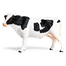 Childrens Cow model solid simulation animal world poultry ranch cattle mother cow child cognitive early education toy