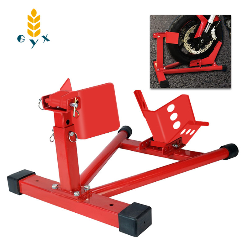 Motorcycle front wheel parking frame/Heavy motorcycle frame/Universal motorcycle support frame/Maintenance support frame