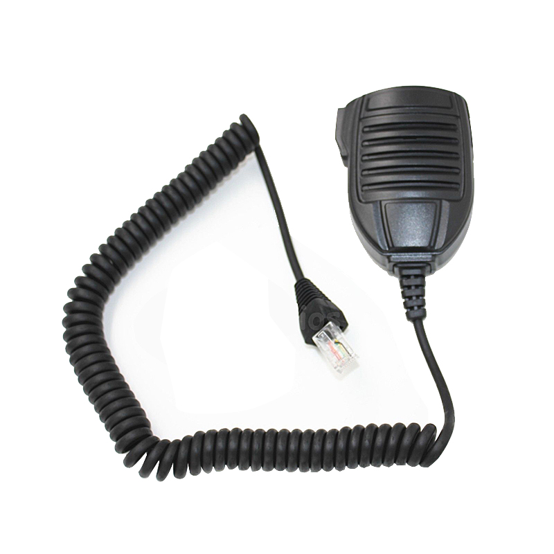 ABKT-Walkie Talkie Standard Mobile Mic Speaker For Vertex Yaesu MH-67A8J 8 Pin VX-2200 VX-2100 VX-3200 Two Way Radio