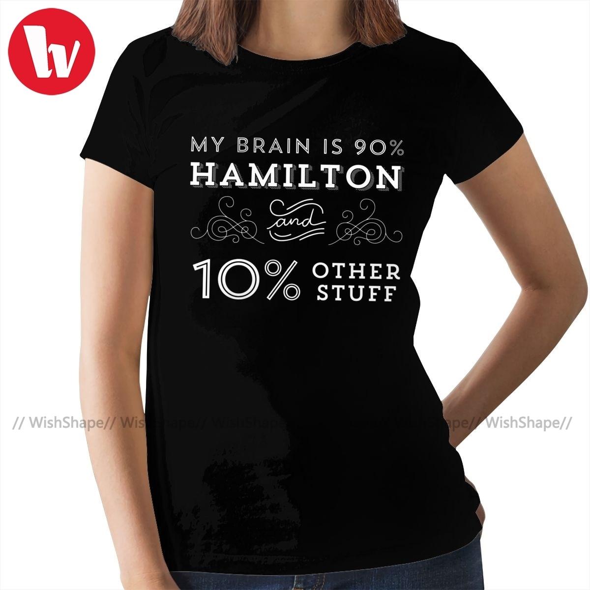Black Raglan T-Shirts Short Sleeve Hamilton Drama Tee for Boys Girls