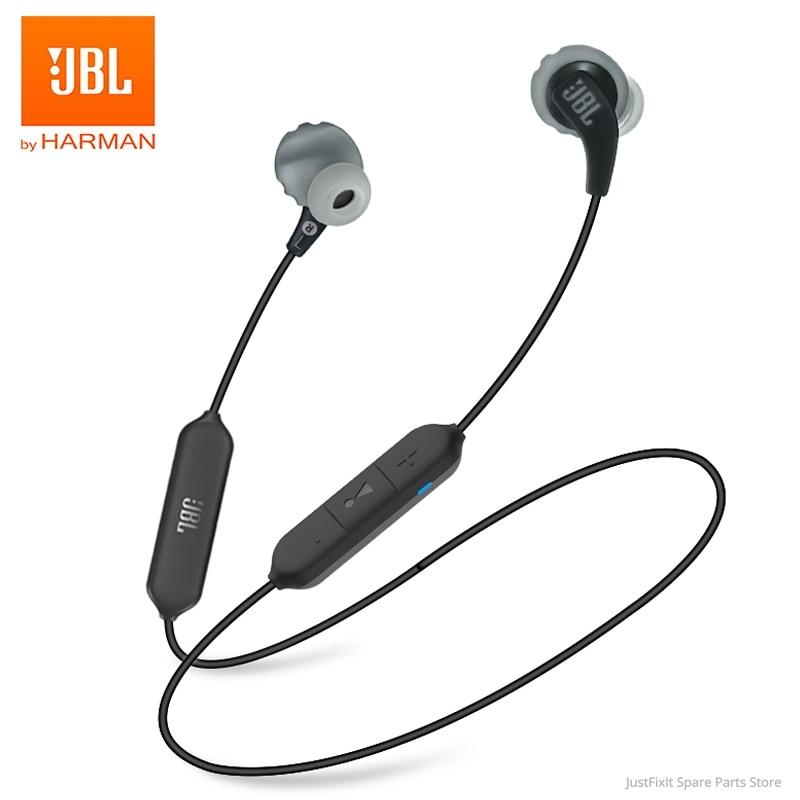 JBL Kopfhörer AUSDAUER Laufen BT Drahtlose Bluetooth Sport Kopfhörer IPX5 Wasserdichte Headset Magnetische Ohrhörer mit Mikrofon