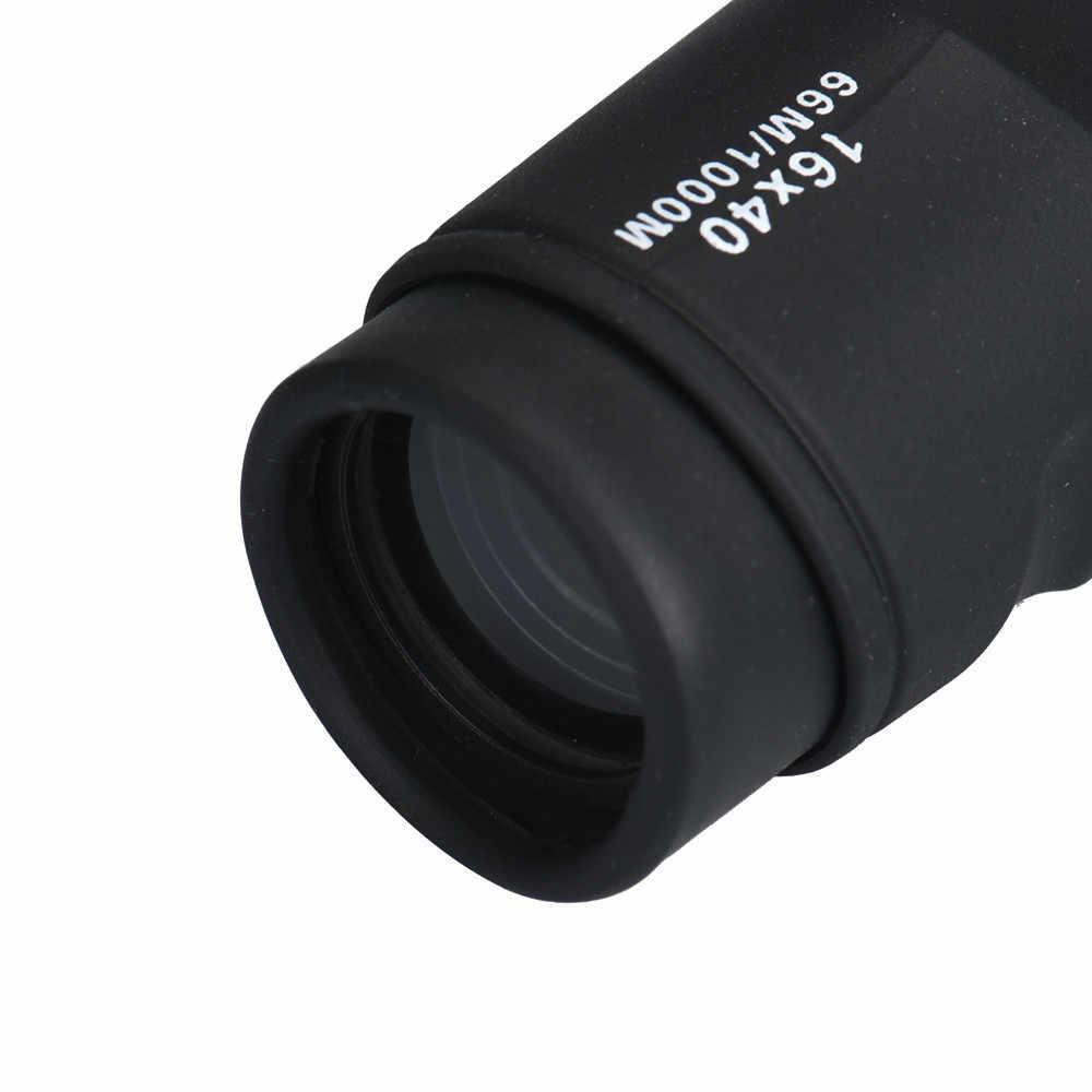Okular noktowizor monokularowy teleskop Camping Telescopio wysokiej mocy 16X40 HD optyka BAK4 noktowizor monokularowy teleskop obracać się o skupić się luneta # e