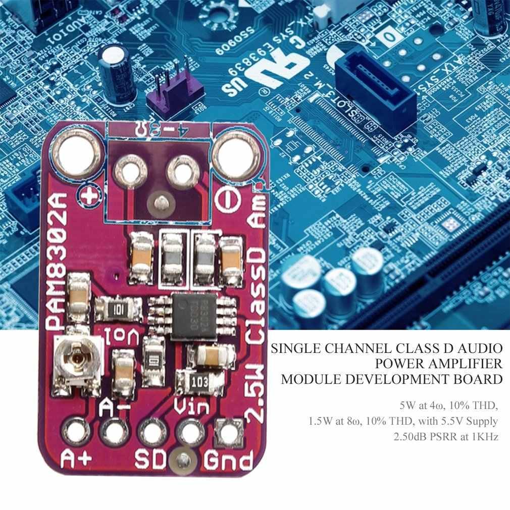PAM8302 2.5W classe D monocanal Solo amplificateur Audio carte amplificateur Module outils de développement pour Arduino