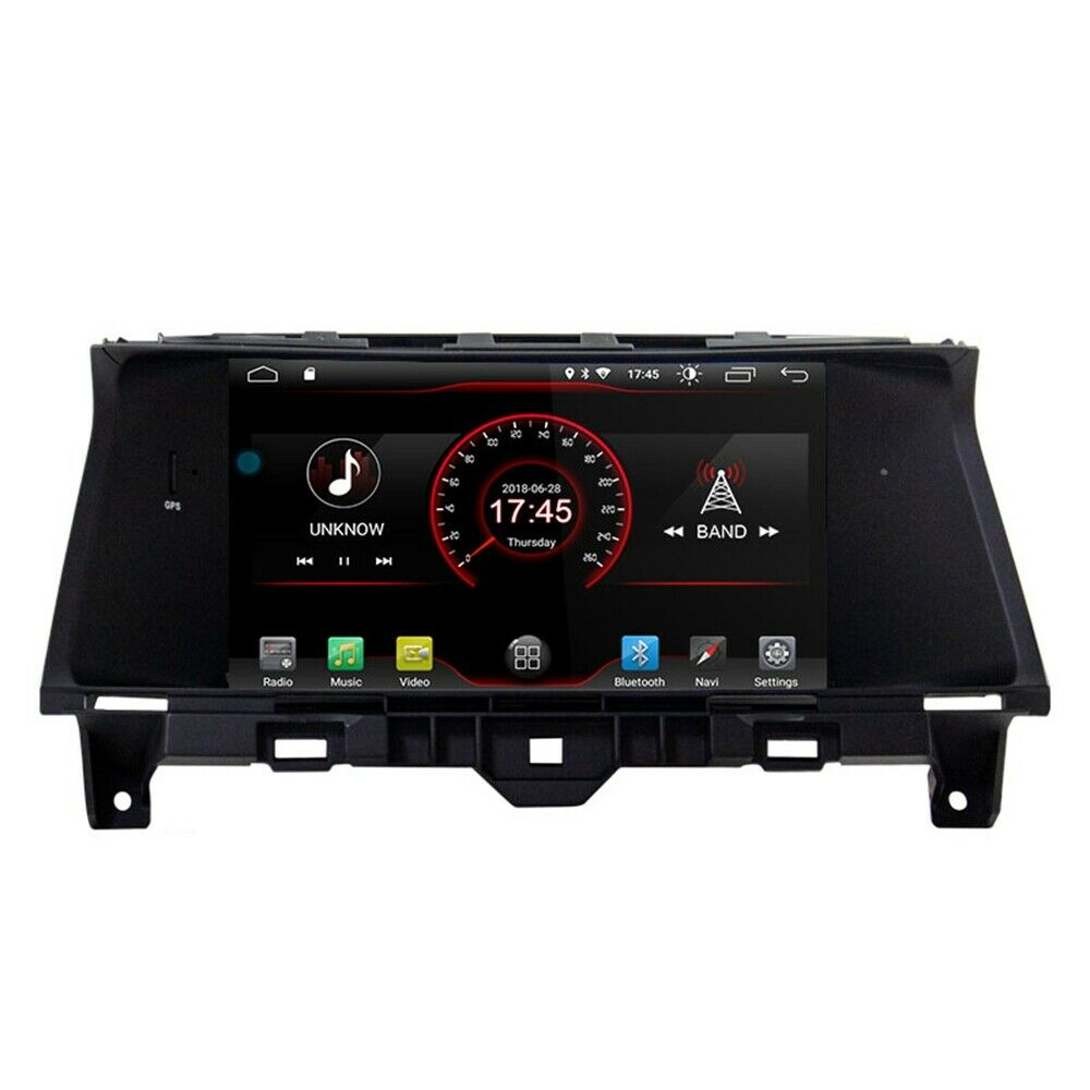 Android 8.1 Car DVD Player <font><b>GPS</b></font> Radio Stereo Tracker Navigation For Honda <font><b>Accord</b></font> <font><b>2008</b></font> 2009 2010 2011 2012 image