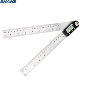 Image 1 - 200mm /300mm 스테인레스 스틸 디지털 미터 각도 경사계 각도 디지털 눈금자 전자 각도계 각도기 각도 파인더