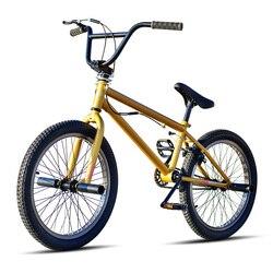 20 pollici BMX bike telaio in acciaio Bambini performing BMX freestyle show angolo di strada estremo stunt freno posteriore mountain bike