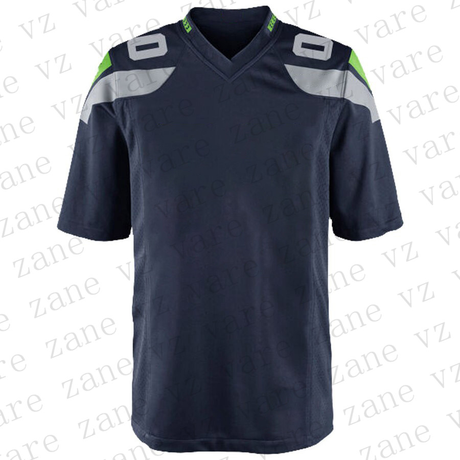 Customize Mens Popular Sports Fans American Football Jerseys Russell Bobby Wagner Tyler Lockett Jadeveon Clowney Seattle Jersey