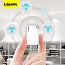 Baseus T2 جهاز تتبع صغير بنظام تحديد المواقع مكافحة خسر مُتعقب بلوتوث ل حقيبة مفاتيح محفظة طفل طفل مكافحة فقدان إنذار بطاقة ذكية مفتاح مكتشف محدد