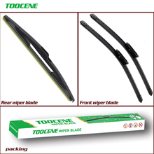 Front and Rear Wiper  Blade For Renault Clio 3(Hatchback) 2005-2007 Windshield  Rubber Brush Car Accessories 24+16+14 цена и фото
