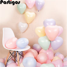 10 шт 22 г уплотненные воздушные шары Макарон конфетного цвета