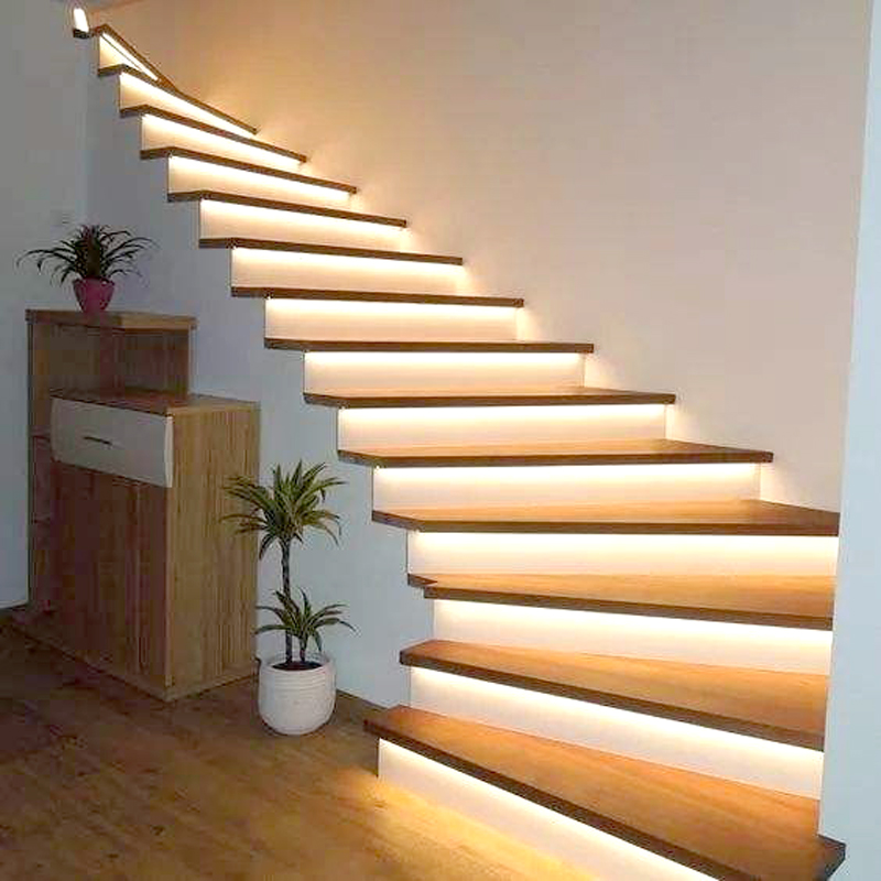 LED Strip Light  USB 2835 SMD DC 5V Flexible LED Strip Light  Infrared Sensor Waterproof LED Strip Light  For Wardrobe Staircase