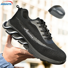 Work Safety Shoes Lightweight Steel Toe cap Indestructible Shoes Men W