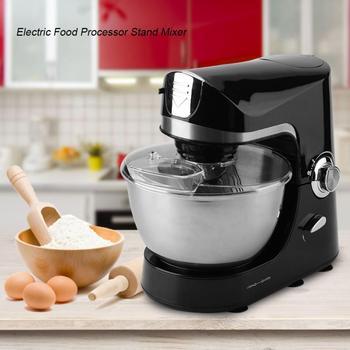 1200W Electric Food Mixer 10 Speeds Stand Food Processor Dough Egg Cream Salad Beater Cake Mixer