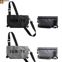 Youpin IGNITE Fashion Sporty Bags Shoulder Crossbody Bag Outdoor Gym Waterproof Teenager Travel Waist Bag for Men Women
