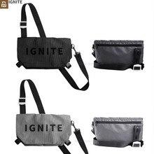 Youpin ignite moda esportiva sacos de ombro crossbody saco ginásio ao ar livre à prova dwaterproof água adolescente viagem cintura saco para homens