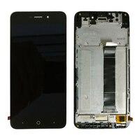 Para zte lâmina a601 ba601 digitador da tela de toque + display lcd assembléia quadro|LCDs de celular| |  -