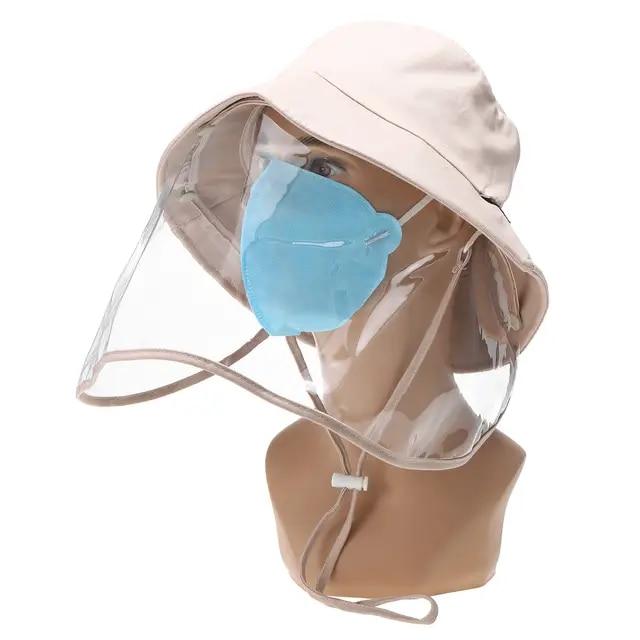 maschera antivirus con visiera