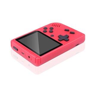 Image 3 - Ingebouwde 400 Games Mini Draagbare Retro Video Handheld Game Console Met 3.0 Inch Kleuren Lcd scherm Handheld Game Spelers