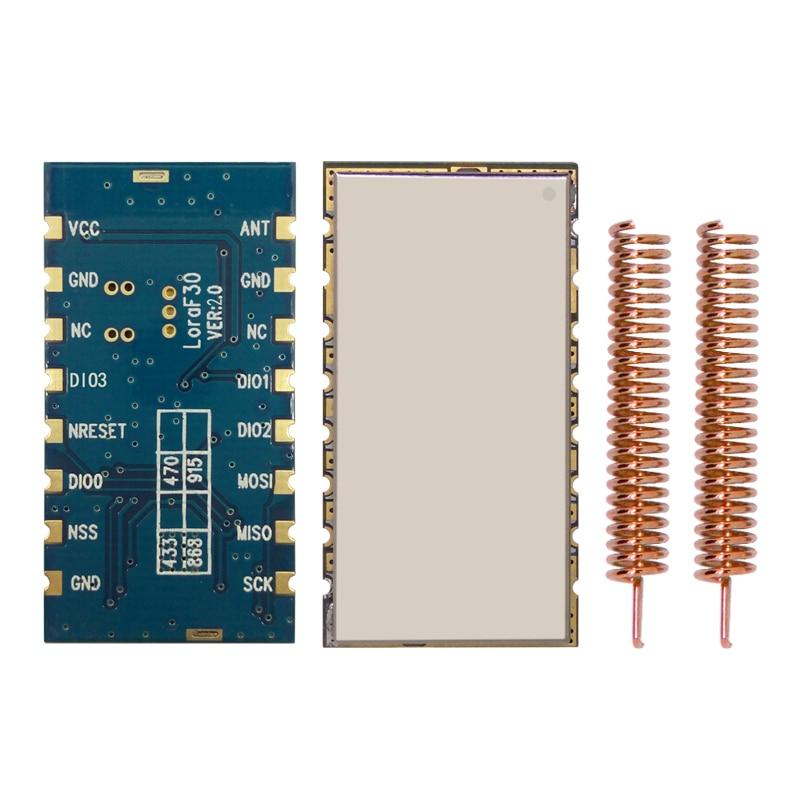 4pcs/lot Lora1278F30 - Wireless 6~8Km High Power 30dBm / 1W 433MHz | 470MHz SPI Port Lora Module