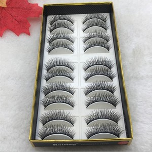 Hot section 10 pairs 3d mink l
