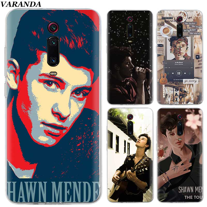 <font><b>Amazing</b></font> Shawn Mendes Case for <font><b>Xiaomi</b></font> Redmi K20 Note 8 7 6 7S Pro 8A 7A 6A 5 Plus Y3 K20Pro Silicone Phone Cover Fall image